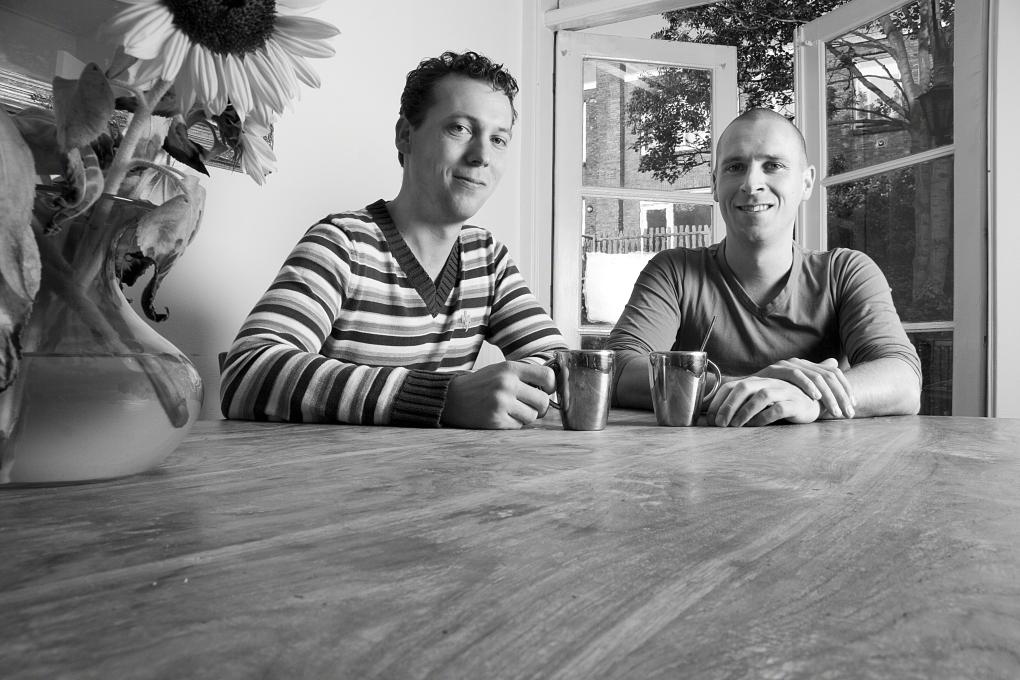 saarshot portret 2 broers Floris en Mirck